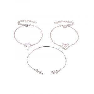 Bracelet Comète argent