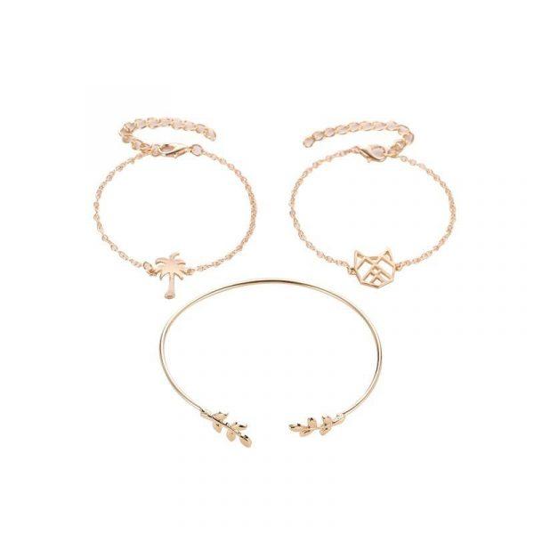 Bracelet Comète doré