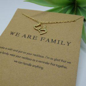 Collier fantaisie Family